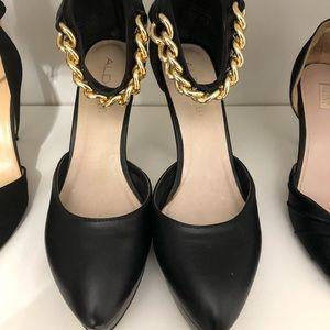 Black Aldo shoes